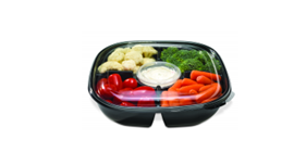 Anti-fog lid technology for deli food packaging