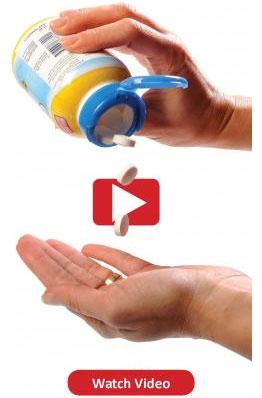 VIDEO: Flip-top closures for vitamins
