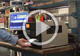 Customers tout benefits of integrated, turnkey case label/print and tracking system