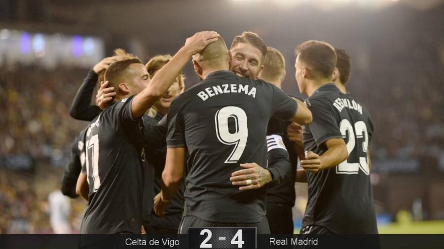 Un gran Benzema comandó el triunfo del Real Madrid Media