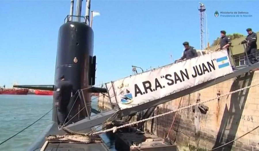 Apareció submarino ARA San Juan un año perdido Media $index