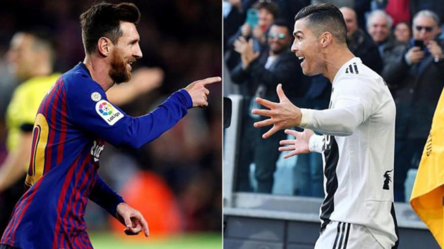 Messi superó a CR7 y acabó goleador del año 2018