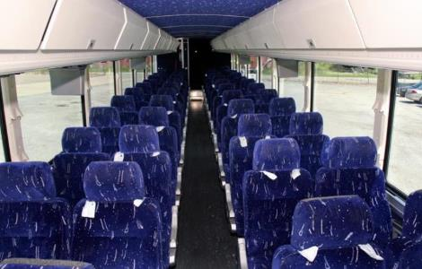 Charter Bus Rentals Cary North Carolina