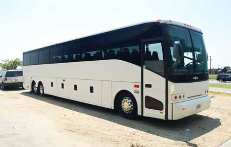 Charter Bus Rental Brown