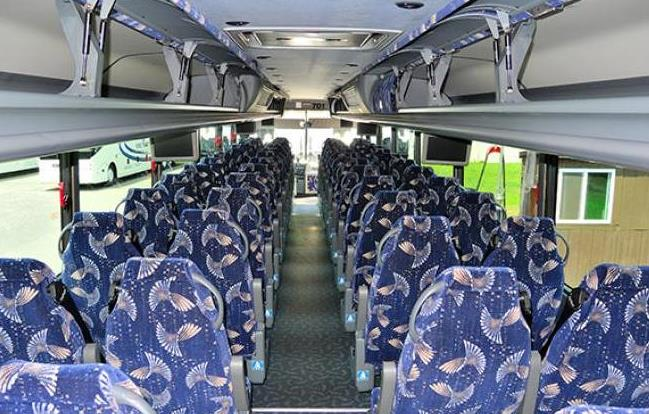 Charter Bus Rental Woodhull Michigan