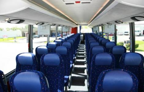 Charter Bus Rental Big Bay MI