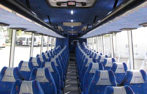 Charter Bus Rental Fort Russell IL