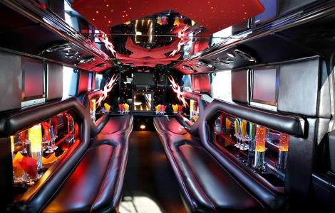 hummer Limo Rental Sunset