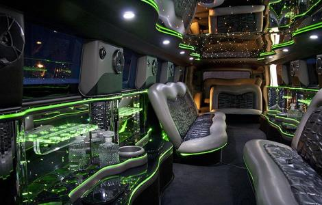 limousine Rental Sierra Brooks CA