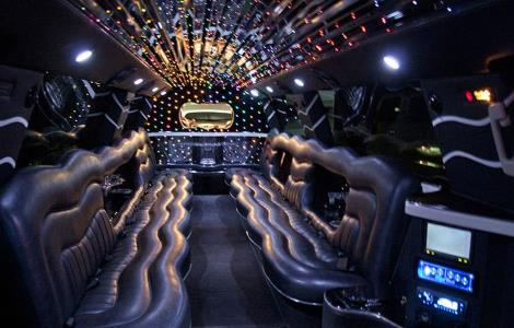 limo Rental Rail Road Flat California
