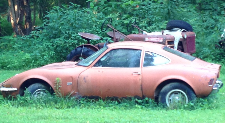 Found a Opel in Gatlinberg, TN