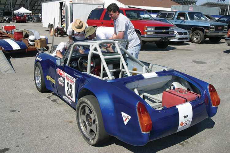 East Tennessee Region SCCA: 1966 MG Midget