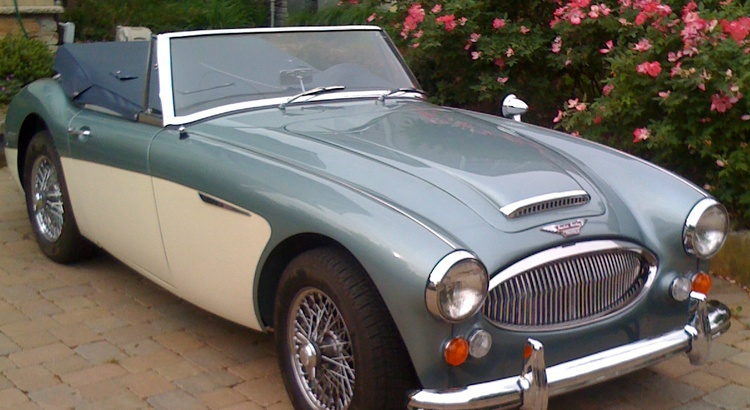 Found a Austin-Healey in Annapolis, MD