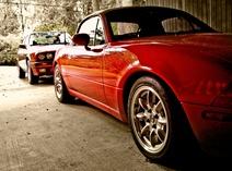 hamster-Mazda miata