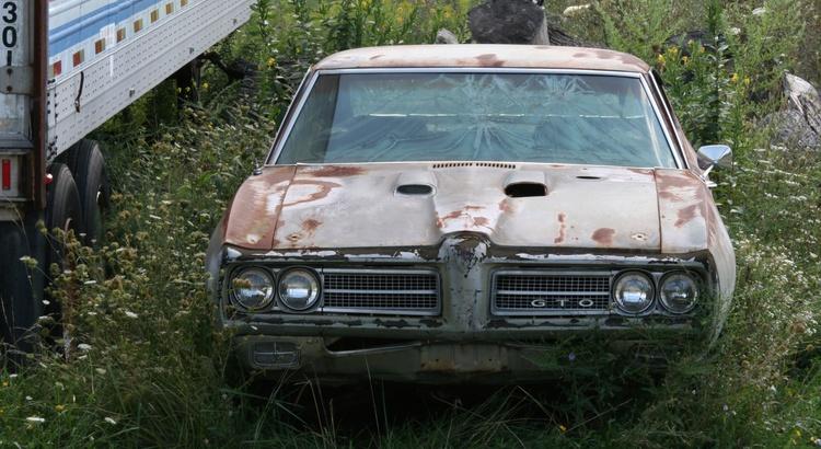 Found a Pontiac in Himrod, NY