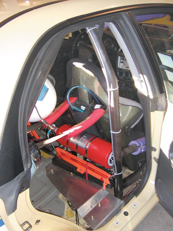 SCCA Performance Rally rules contain strict requirements for safety items, including roll cage construction.