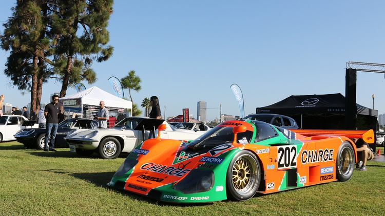 Mazda showed off their 767B plus a pair of Cosmos.