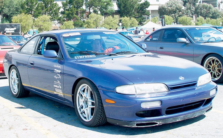 The second-generation, S14-chassis Nissan 240SX is both wider and longer than its predecessor. The revised interior has a distinct '90s flair to it, featuring a more sculpted dashboard.