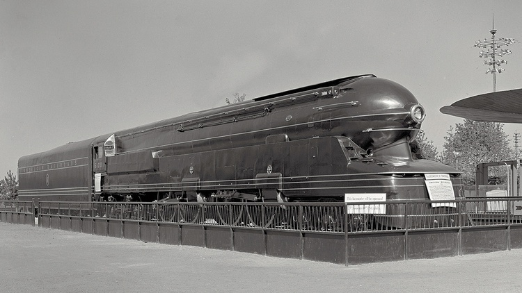 Raymond Loewy's designs knew few bounds, from steam locomotives to household goods.