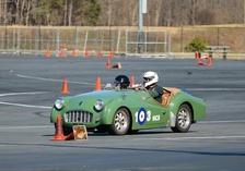 Stu Lasswell-Triumph TR3