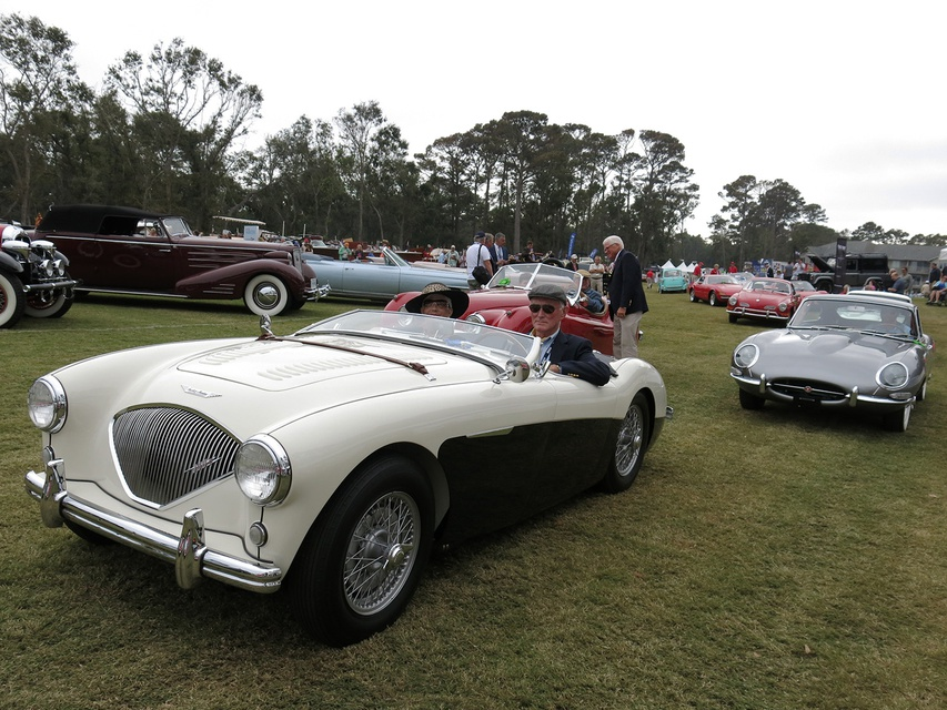 Sights From The Hilton Head Island Concours DElegance Classic - Hilton head car show