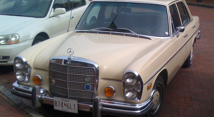 Found a Mercedes-Benz in Annapolis, MD