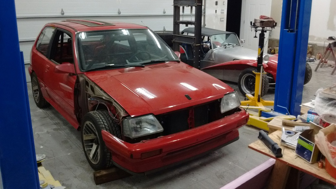 Your Projects: SkinnyG's V8 Pontiac Firefly  Grassroots