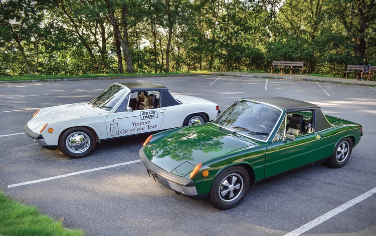 Our two test cars--the white 914 and the green 914-6--were both very close to stock specs.
