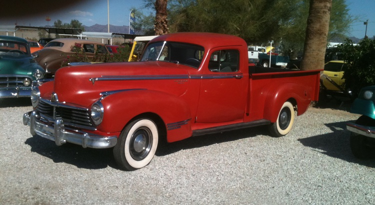 Found a Hudson in Quartzsite, Az