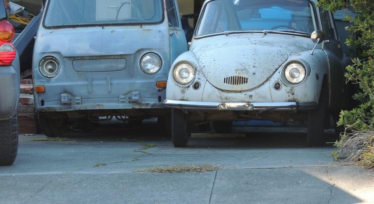 Found a Subaru in Eureka, CA