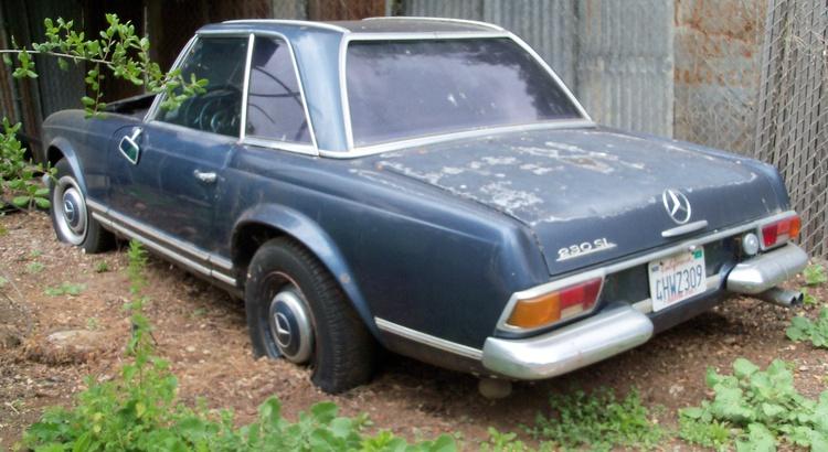 Found a Mercedes-Benz in Escondido, Ca