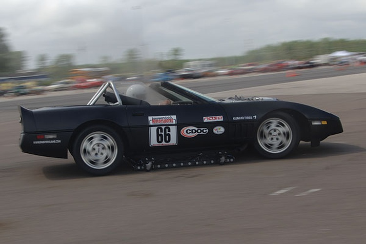 Team Cheaparral: 1986 Chevrolet Corvette