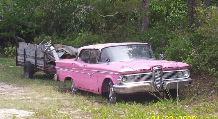Found a Edsel in Cedar Key, FL