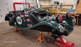 Supercharging Your MGB | Articles | Classic Motorsports