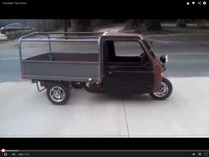 Ben_Modified-Other Cushman Truckster - Piaggio Ape Tribute