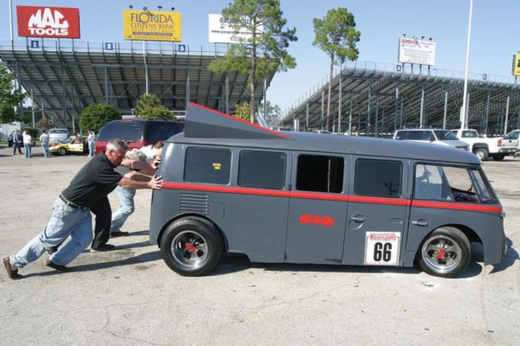 Dan & Ian Senecal: 1966 Volkswagen Bus