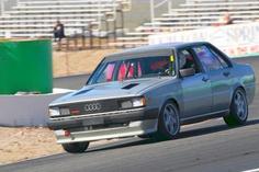 Typ85-Audi 4000 quattro of dilapidation!
