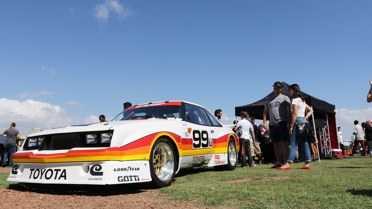 And to go with it, a Celica GTU racer.