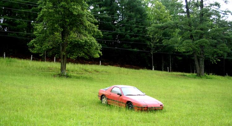 Found a Mazda in Brevard, NC