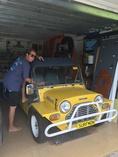 Capt Coconut-Leyland Mini-Moke Californian