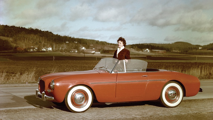The Volvo P1900 of the mid-1950s was the company's first foray into sports cars.