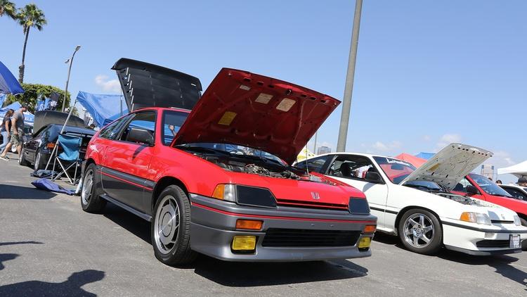 1985 Honda CRX Si.