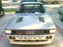 ernest-Audi 4000 quattro of dilapidation!