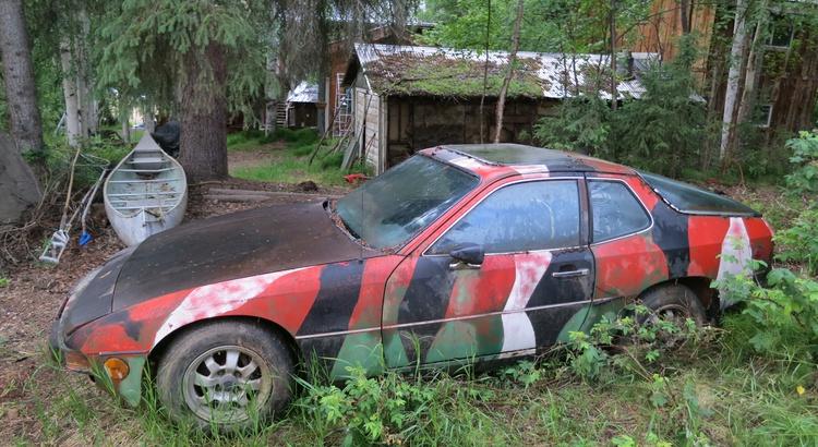 Found a 924 in Ester, AK