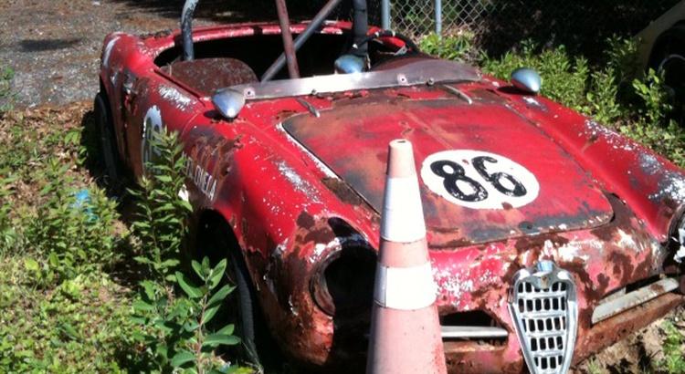 Found a Alfa Romeo in Northern Baltimore, MD