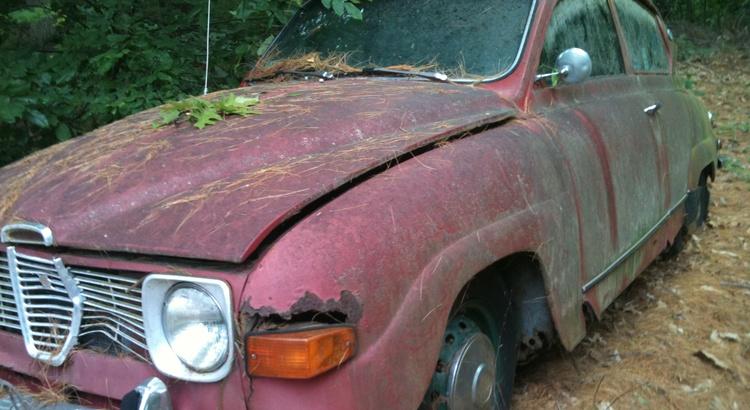 Found a Saab in near Boston, MA