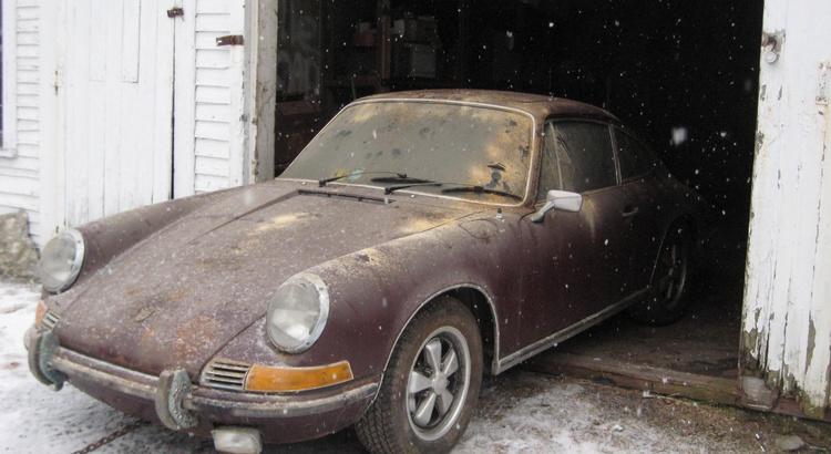 Found a Porsche in Manchester, VT