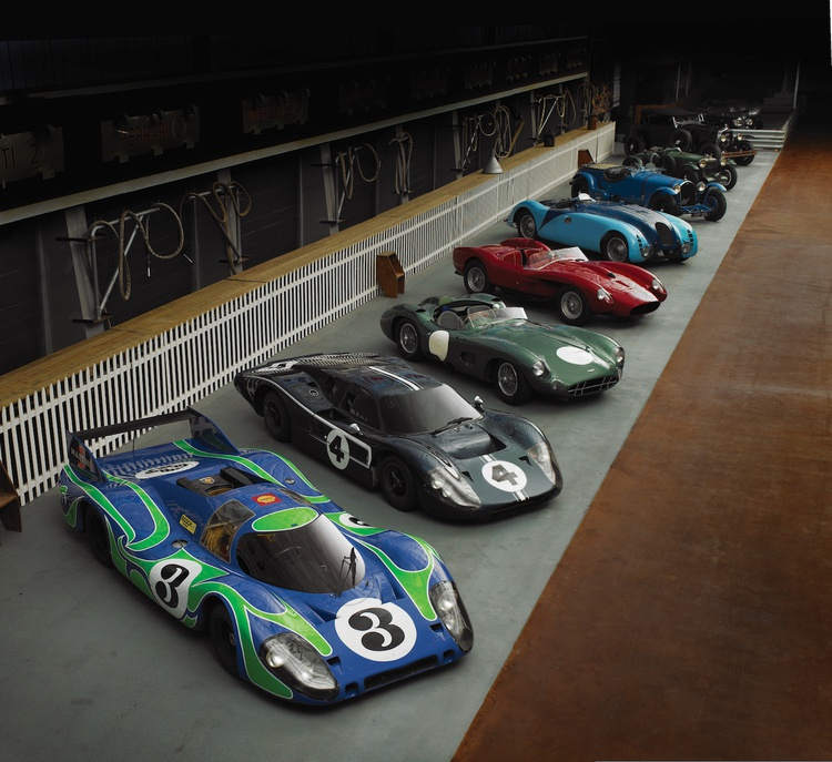 Photograph Courtesy of the Simeone Foundation Automotive Museum