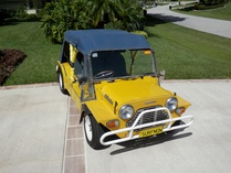 Capt Coconut-Leyland Mini-Moke Californian