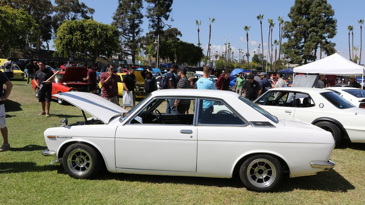 1971 Datsun Bluebird SSS Coupe.